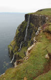 Cliffs at Waternish. On the northwestern point of Skye, Scotland Stock Photos