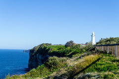 Cliffs at Watsons bay Sydney. Watsons bay is located 11km East of Sydneys CBD Royalty Free Stock Photo