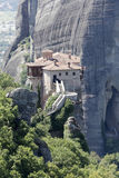 Orthodox monasteries of Meteora Greece Royalty Free Stock Photos