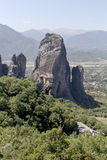 Orthodox monasteries of Meteora Greece Royalty Free Stock Photography