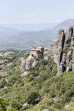 Orthodox monasteries of Meteora Greece Stock Photos
