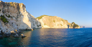 Cliffs of Zakynthos island, Agalas, Greece Stock Photo