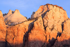 Cliffs at Zion National Park Stock Photo