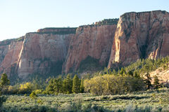 Cliffs of Zion National Park, Utah Stock Image