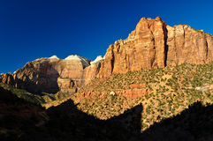 Cliffs of Zion. Stock Photography