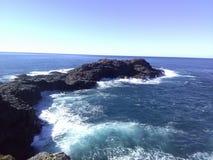 Cliffside en Kiama foto de archivo libre de regalías