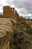Cliffside fördärvar på Hovenweep den nationella monumentet arkivbilder