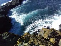 Cliffside at Kiama. Taken at Kiama royalty free stock photo
