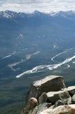 Cliffside widok Zdjęcia Royalty Free
