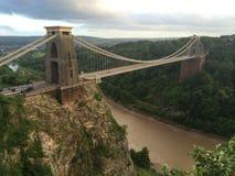 Cliffton吊桥 图库摄影