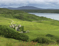 Cliffton Castle in Republic of Ireland Royalty Free Stock Image