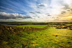 Clifftop de Irlanda del Norte Imagen de archivo libre de regalías