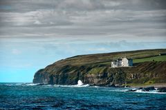 Clifftop House, Keiss,  Northern Scotland Stock Photos