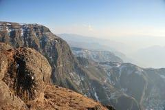 Cliffy гора стоковые изображения rf