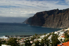 Clifs em Tenerife Fotos de Stock