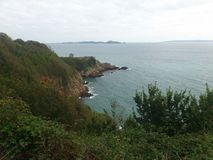 Clifs. Guernsey, Channel Islands Stock Photo