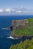 Clifs of Moher artistic over coloured, Ireland Royalty Free Stock Photos