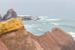 Clifs w Cabo De Sao Vincente Obrazy Royalty Free