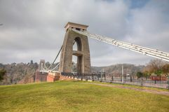 Cliftom Suspension Bridge Stock Image