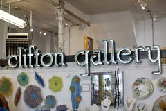 Clifton Art Glass Gallery Memphis Royalty Free Stock Image