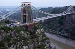 Clifton Aufhebung-Brücke stockbild