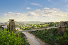 Clifton Aufhebung-Brücke. Stockfotografie