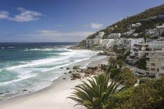 Clifton Beach Hotels in Cape Town Stockbild