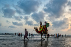 Clifton Beach Karachi Pakistan Foto de Stock