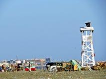 Clifton beach, Karachi, Pakistan stock images