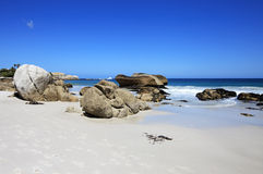 Clifton beach in summer day Stock Photos