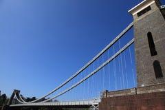 clifton bridżowy zawieszenie fotografia royalty free