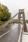 Clifton bridge in autumn, Bristol Stock Image