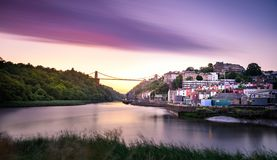 Free Clifton Bridge Bristol Stock Image - 136822311