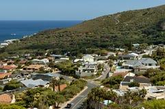 Clifton, de Atlantische Oceaan, Kaapstad Royalty-vrije Stock Foto's