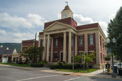 Clifton Forge Town Hall Stock Photo