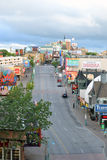 Clifton Hill Early Morning Niagara Falls, Canada Royalty Free Stock Photography