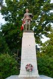 Clifton Hill Great War Memorial aux chutes du Niagara, Canada image libre de droits