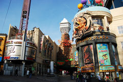 Clifton Hill in Niagara Falls. Clifton Hill Entertainment Area, Niagara Falls, Canada Stock Images
