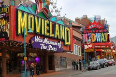 Clifton Hill, Niagara Falls attractions Royalty Free Stock Photo