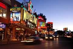 Clifton Hill Tourist Area, Niagara Falls Ontario Stock Images