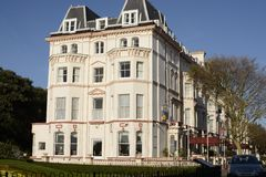 The Clifton Hotel. Folkestone. England Stock Photos