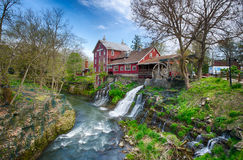 Clifton Mill. Near Dayton Ohio stock photos