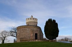 Clifton observatory. With blue sky Stock Image