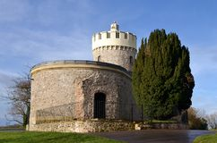 Clifton observatory. With blue sky Royalty Free Stock Photos