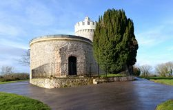 Clifton observatory. With blue sky Stock Images