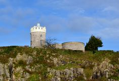 Clifton observatory. With blue sky Royalty Free Stock Photo