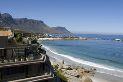 Clifton Strand nahe Kapstadt Lizenzfreies Stockfoto