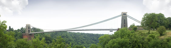 Clifton suspension bridge Royalty Free Stock Photos