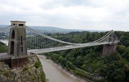 Clifton Suspension Bridge Fotografie Stock
