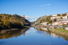 Clifton Suspension Bridge Stock Afbeeldingen